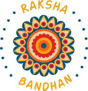 happy raksha bandhan sticker