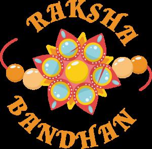 raksha bandhan png text