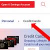 RBL Credit Card Status check